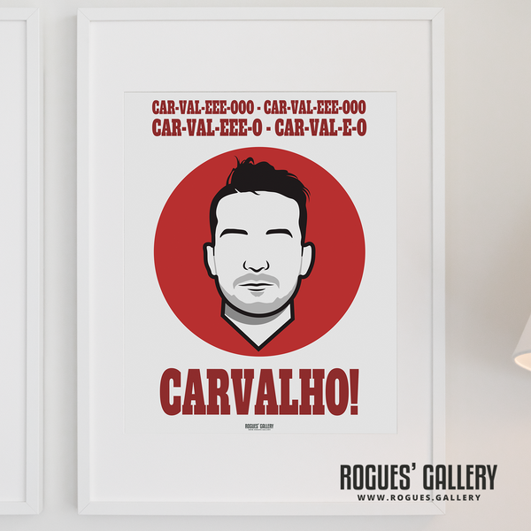 Joao Carvalho Nottingham Forest icon A3 print