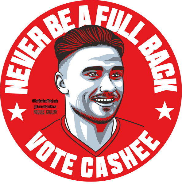 Matty Cash full back right NFFC Nottingham Forest sticker #GetBehindTheLads edit