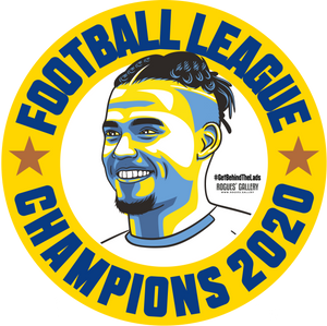 Leeds United Champions beer mats 2020 title Kalvin Phillips