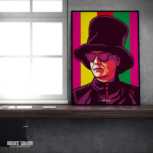 Chris Lowe Pet Shop Boys keyboards composer synth guy portrait A1 icon print