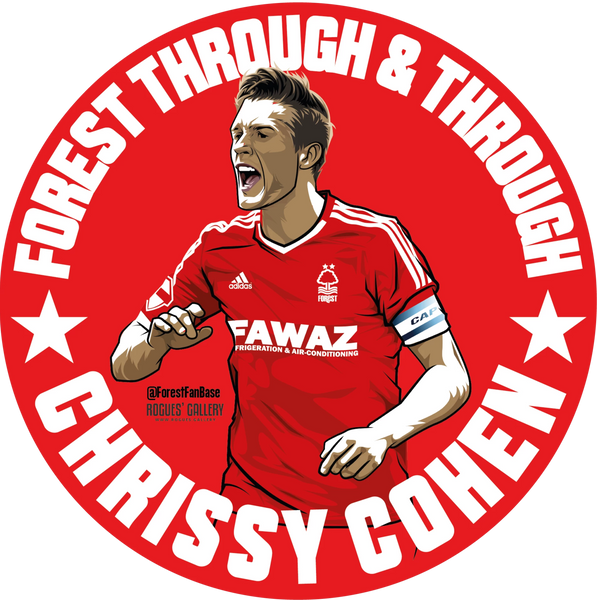 Chris Cohen captain coach Nottingham Forest beer mats #GetBehindTheLads
