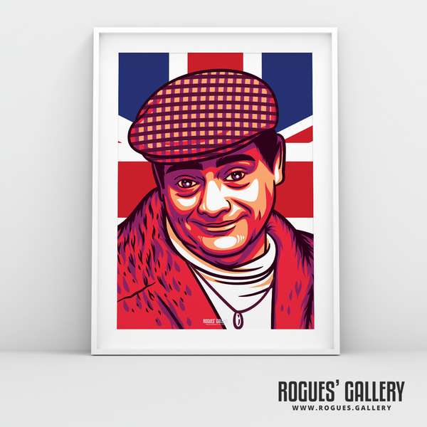 Del Boy Only Fools and horses David Jason Trotters Independent Traders Peckham BBC Tv legend A3 print