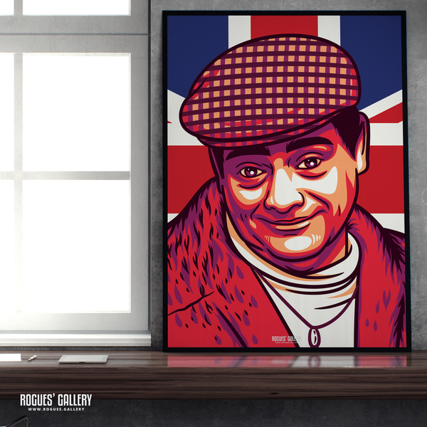 Del Boy Only Fools and horses David Jason Trotters Independent Traders Peckham BBC Tv legend A1 print