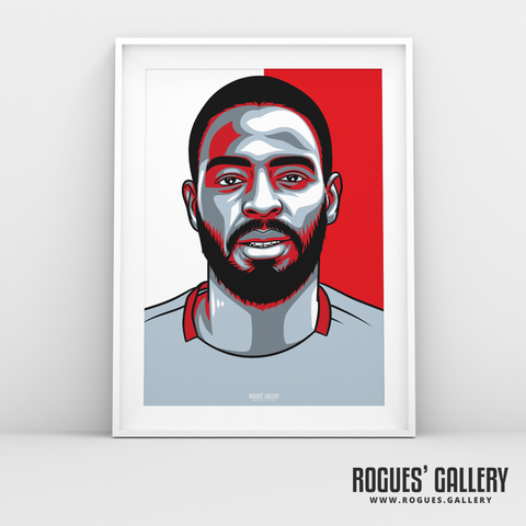 Abdoulaye Diallo goalkeeper Nottingham Forest FC The City Ground NFFC A3 print