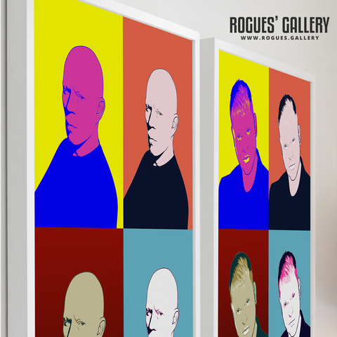 Erasure Pop Art A3 prints
