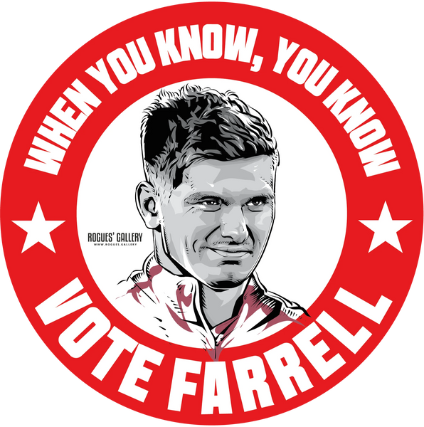 Owen Farrell England Rugby International Captain vote sticker