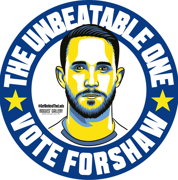 Adam Forshaw Leeds United midfielder beer mats Vote #GetBehindTheLads