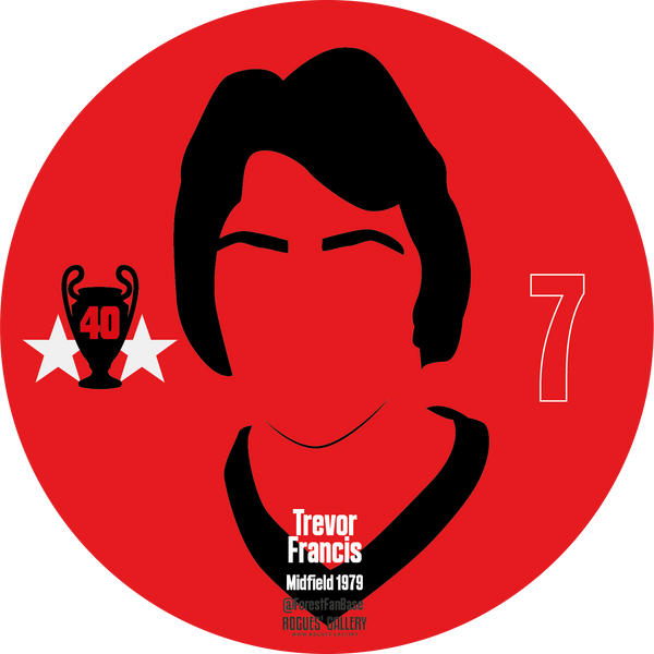 Trevor Francis striker Nottingham Forest Miracle Men stickers City Ground European Cup 1979 1980