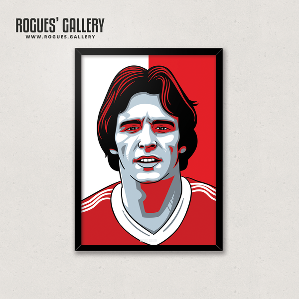 Frankie Gray NFFC Nottingham Forest defender A3 print edits