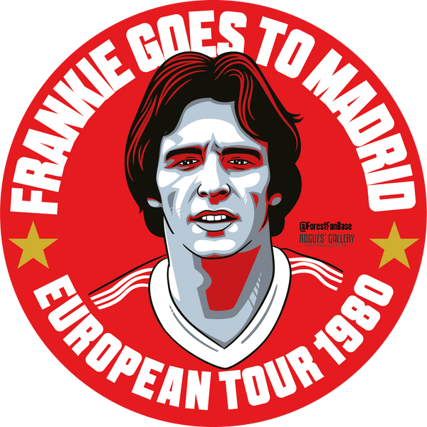 Frank Gray Frankie Nottingham Forest left back deluxe stickers #GetBehindTheLads