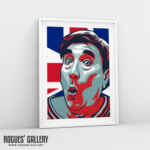 Frankie Howerd A3 Icon prints
