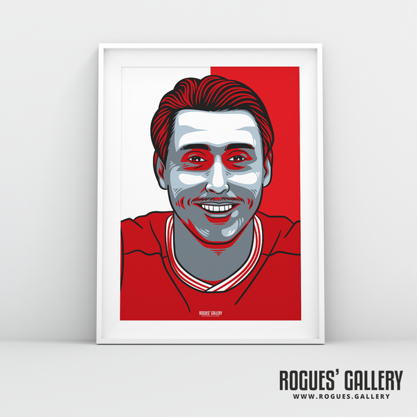 Luke Freeman midfielder Nottingham Forest FC The City Ground NFFC A3 print