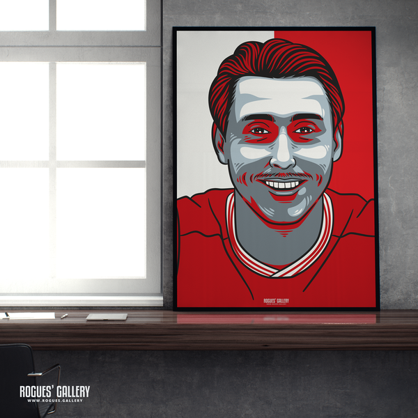 Luke Freeman midfielder Nottingham Forest FC The City Ground NFFC A1 print