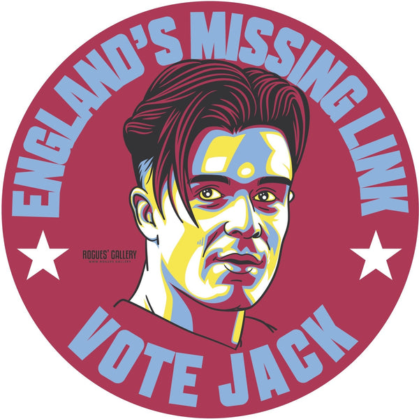 Jack Grealish Aston Villa Vote sticker #GetBehindTheLads