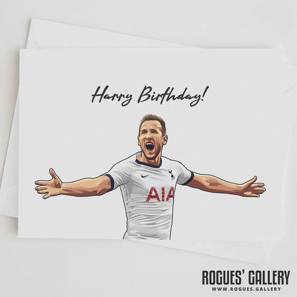 Harry Kane Harry Birthday! greeting card Spurs striker THFC England captain