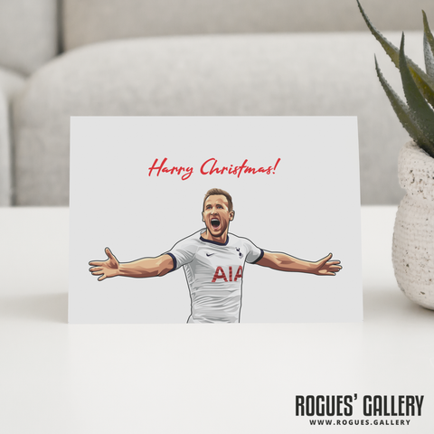 Harry Kane Harry Christmas! greeting card Spurs striker THFC England captain festive