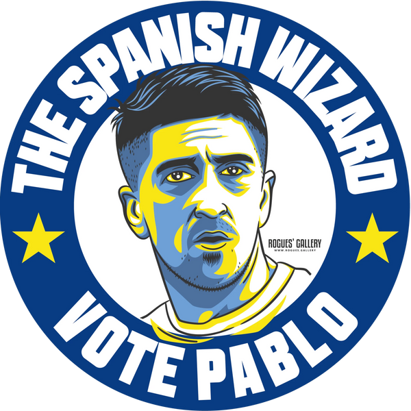Pablo Hernandez Leeds United midfielder sticker Vote #GetBehindTheLads