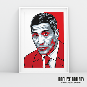 Chris Hughton manager Nottingham Forest FC The City Ground NFFC A3 print