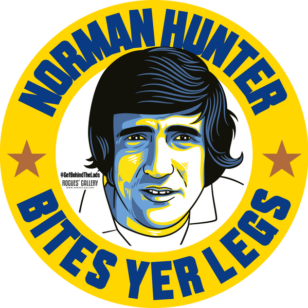 Norman Hunter Leeds United defender bites yer legs beer mats Edits