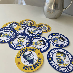 Leeds United Beer Mats