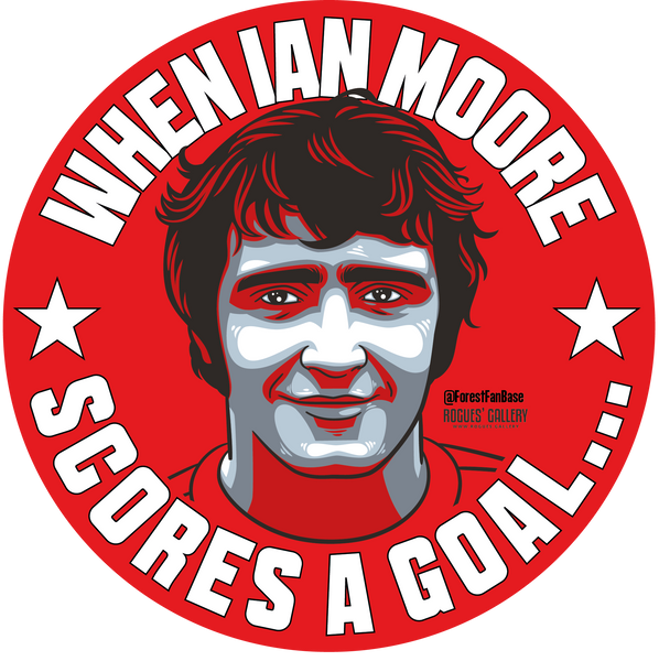 Ian Storey-Moore Nottingham Forest Sticker
