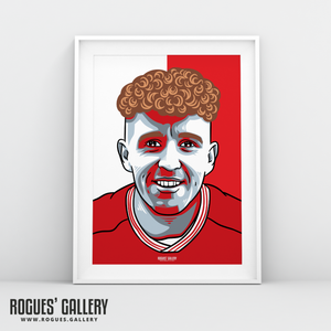 Jack Colback Nottingham Forest City Ground midfielder A3 print