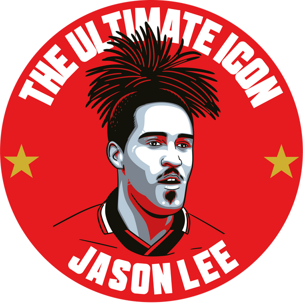 Jason Lee Nottingham Forest pineapple on his head forward Deluxe stickers #GetBehindTheLads