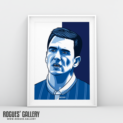 Jed Wallace Millwall FC Lions iconic art A3 print
