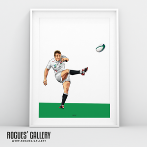 Jonny Wilkinson England Rugby World Cup Winners 2003 drop kick injury time victory A3 print