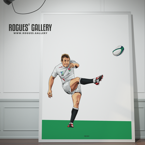 Jonny Wilkinson England Rugby World Cup Winners 2003 drop kick injury time victory poster