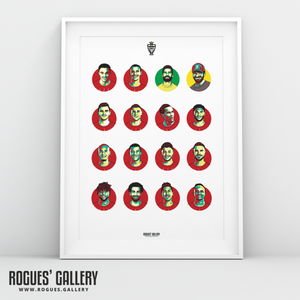 Liverpool FC Squad 2019-20 Premier League Title winning A3 print #GetBehindTheLads Souvenir limited edition