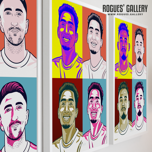 Leeds United Pop art prints