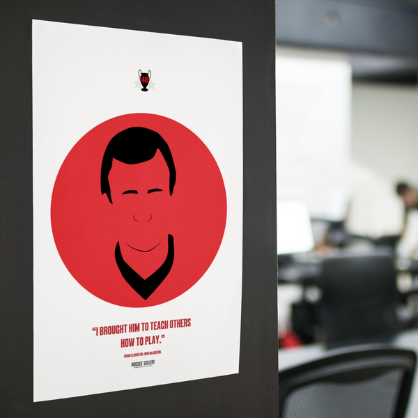 John McGovern icon art Nottingham Forest double European Cup Winning Captain