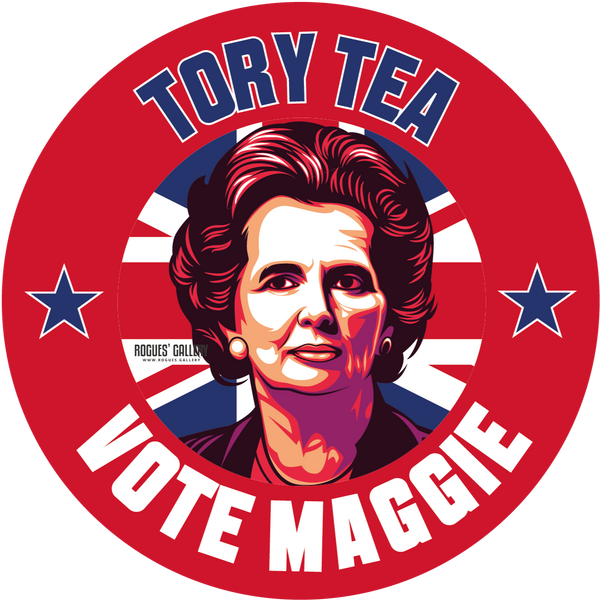 Maggie Thatcher Iron Lady Tory Tea beer mats