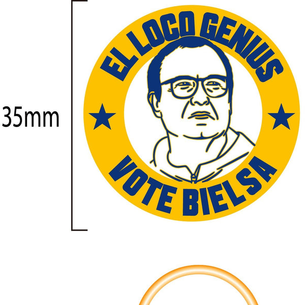 Bielsa pin Get Behind The Lads Rogues Gallery