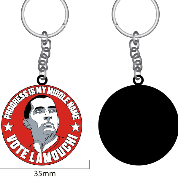 Sabri Lamouchi key ring limited edition Rouges gallery Nottingham Forest NFFC