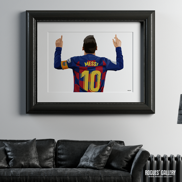 Lionel Messi Barcelona Barca Argentina Barcelona legend greatest A1 art print superb great brilliant best