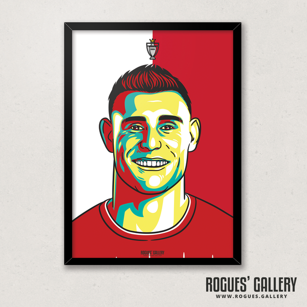 James Milner midfielder Liverpool FC Anfield Art print A3 Champions Limited Edition Edit title England