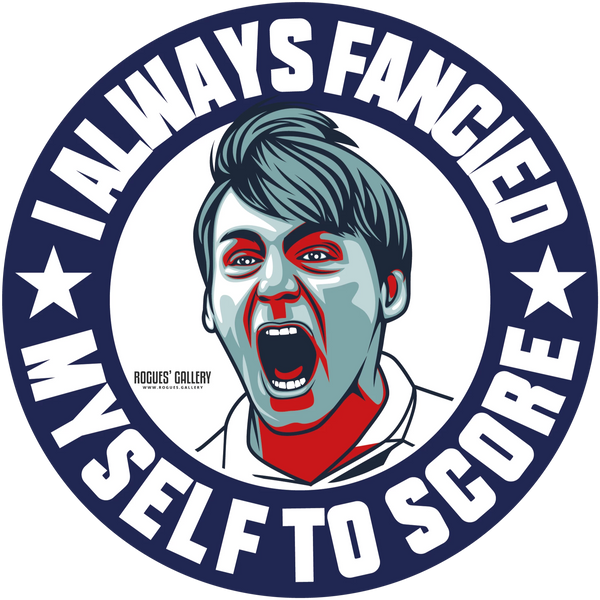 Stuart Pearce Psycho England Three 3 Lions Penalty sticker