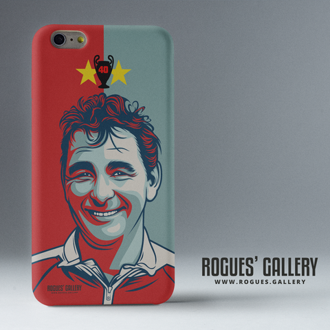 Brian Clough Nottingham Forest iPhone case European Cup