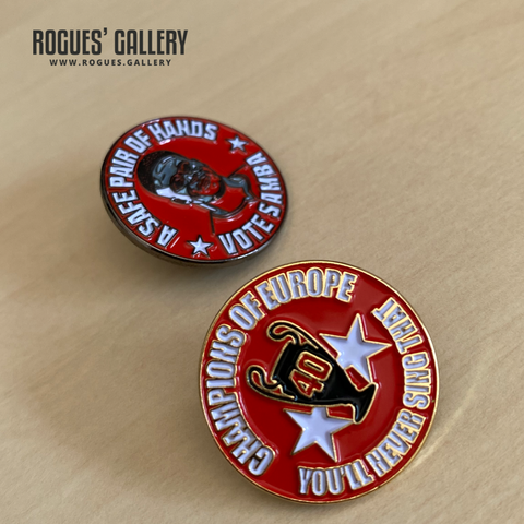 Limited Edition Nottingham Forest Pins