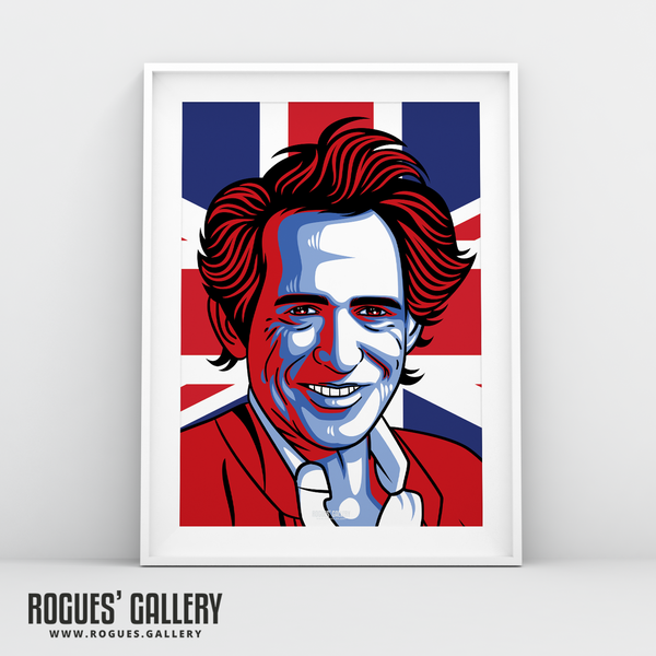 Keith Richards Rolling Stones guitarist A1 print art modern edit