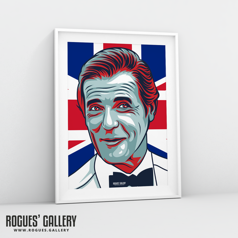 Roger Moore 007 James Bond A3 print