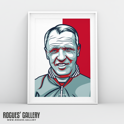 Bill Shankly Liverpool FC Scouse Anfield A3 print