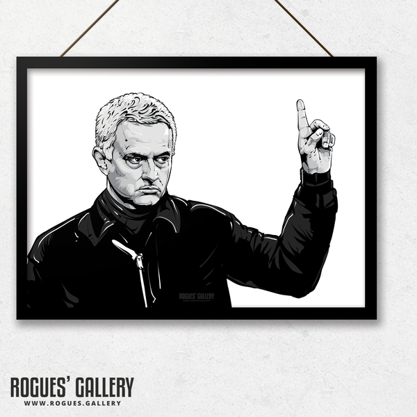 Spurs manager THFC Special One Jose A3 print