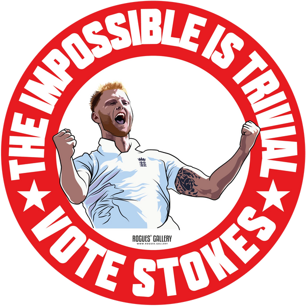 Ben Stokes England cricket all rounder World Cup winner vote sticker
