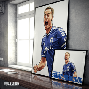 John Terry Chelsea Welcome To Stamford Bridge England defender captain leader legend design