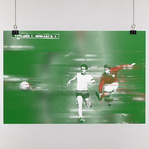 Geoff Hurst Wembley 1966 World Cup Final Goal Artwork Design Victory