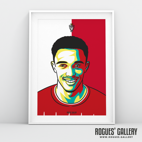 Trent Alexander-Arnold Liverpool FC Anfield Art print A3 Champions Limited Edition Full Back