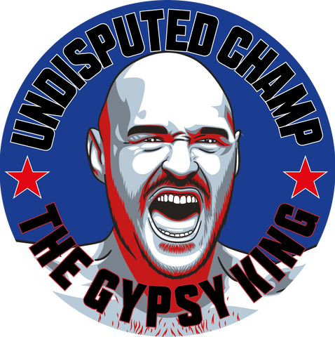 Tyson Fury World Heavyweight Champion beer mats Gypsy King #GetBehindTheLads